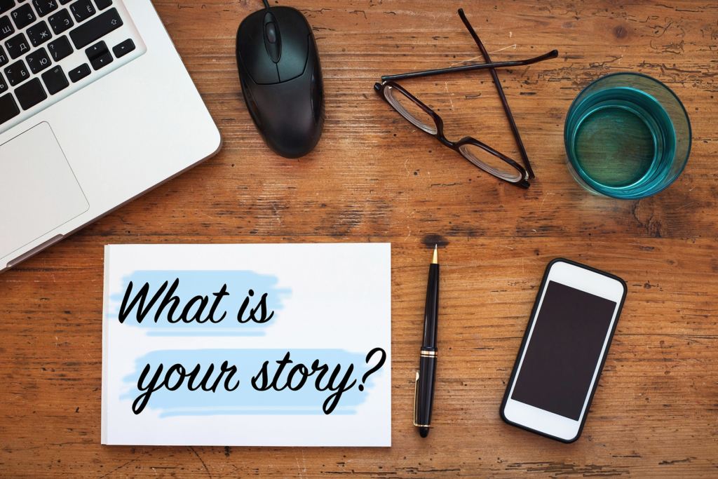 what is your story for a blog post