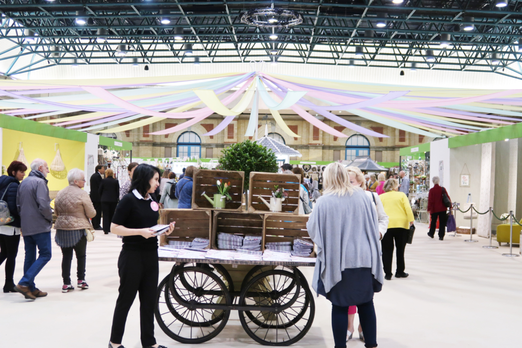 Country Living Fair highlights: Entrance to the show