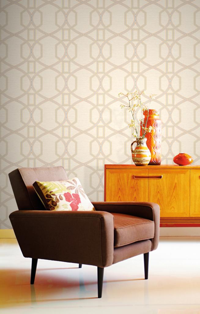 Highbrook wallpaper in Coleton range designed by Elizabeth Ockford