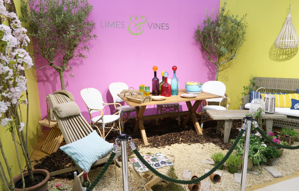 Country Living Fair highlights: Limes & Vines room-set