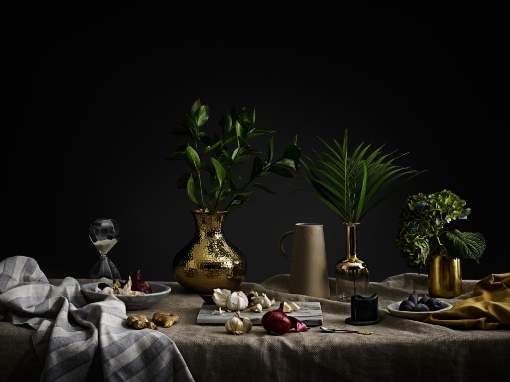 Tabletop shot styled by Anna, photos by Jon Aaron Green