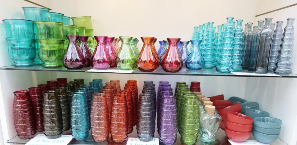 Country Living Fair highlights: The Recycled Glass Company stand