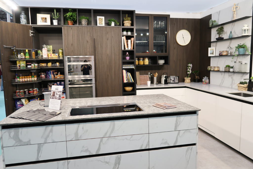 Grand Designs Live show: Ray Munn kitchens Zetasei kitchen
