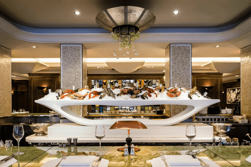 Luxury London restaurants: Scott's