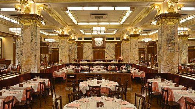 Luxury London restaurants: Brasserie Zédel