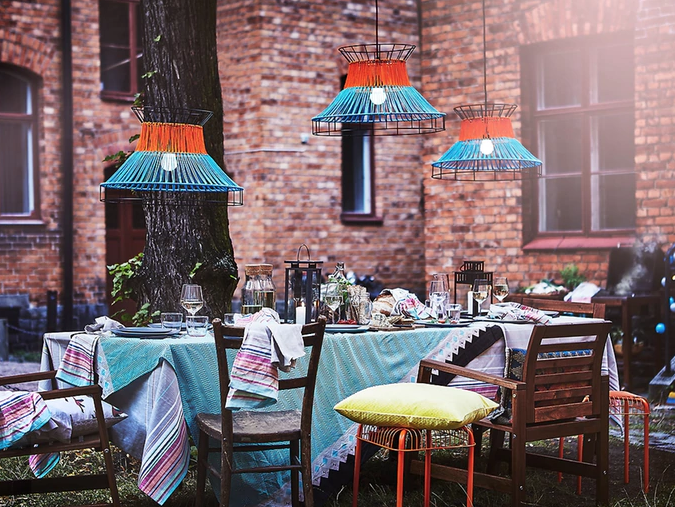 Outdoor living: Make your garden party one to remember with these accessories from Ikea