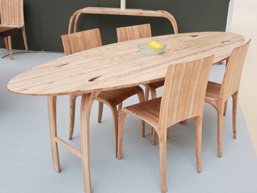 House & Garden Festival highlights Jonathan Field bespoke ash table