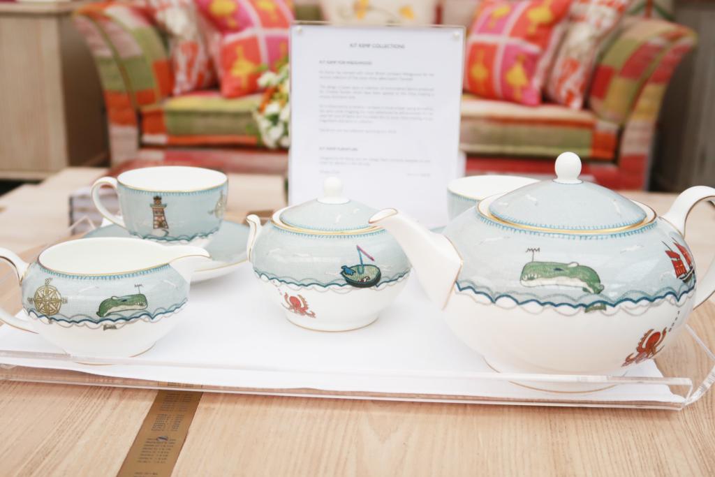 House & Garden show highlights Kit Kemp tableware detail