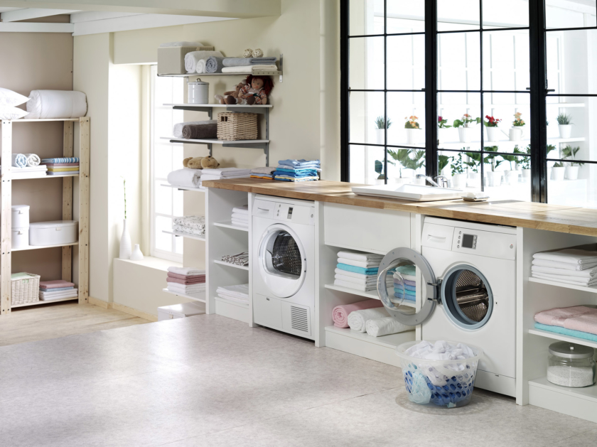 utility room laundry room