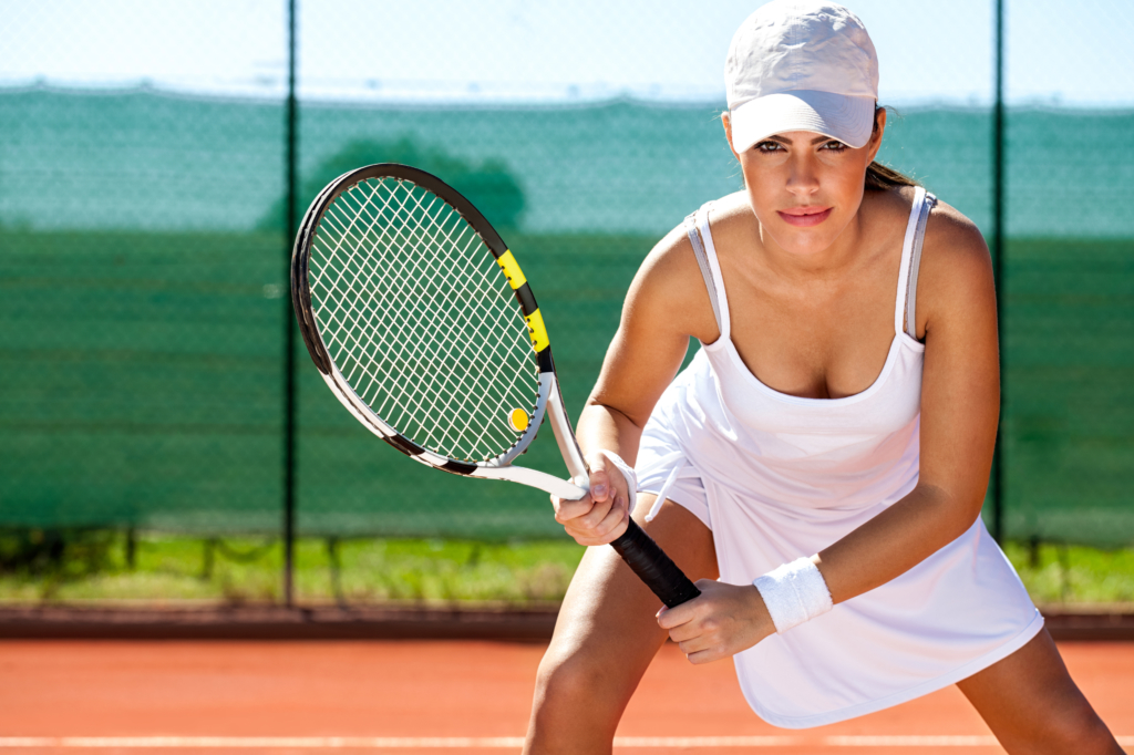 Benefits of tennis female tennis player