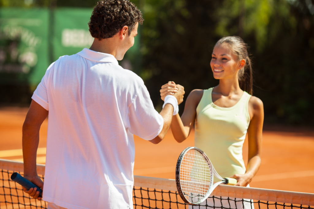 Benefits of tennis match