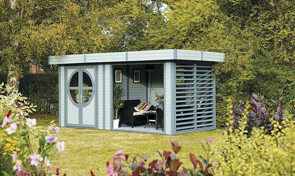 Garden room: Rowlinson Connor Painted Leisure chalet