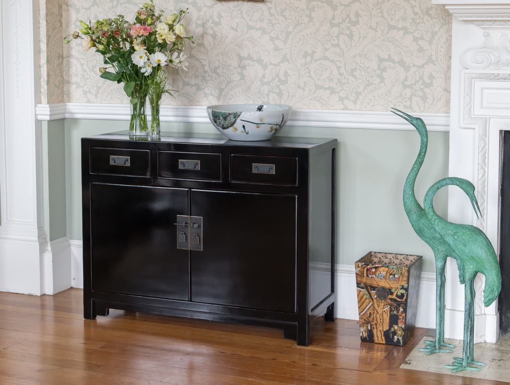 Oriental style black Orchid Furniture