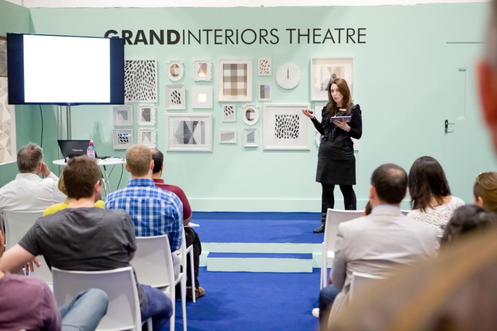 Julia Alexander interior designer whats next (me speaking at Grand Designs)