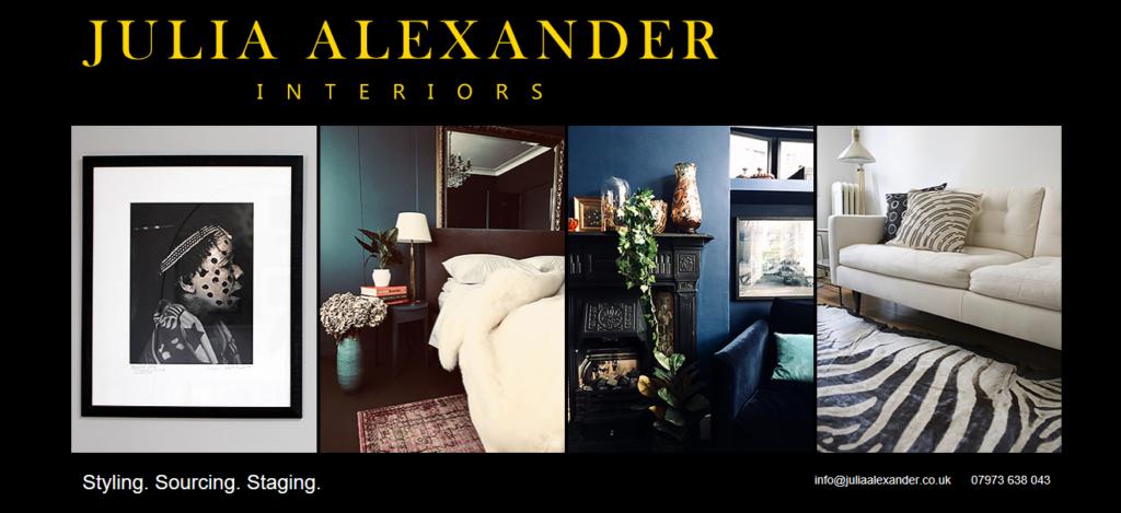 Julia Alexander interior designer website find out more - website