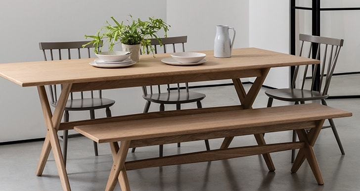 autumn winter interiors dining table modern neutrals