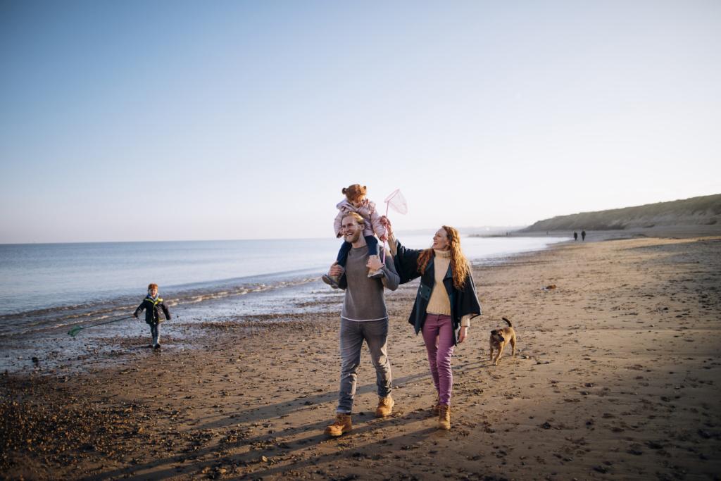 Benefits of walking beach