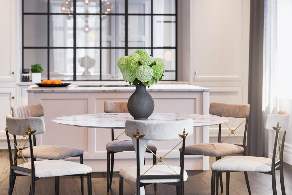 good builder luxury dining area