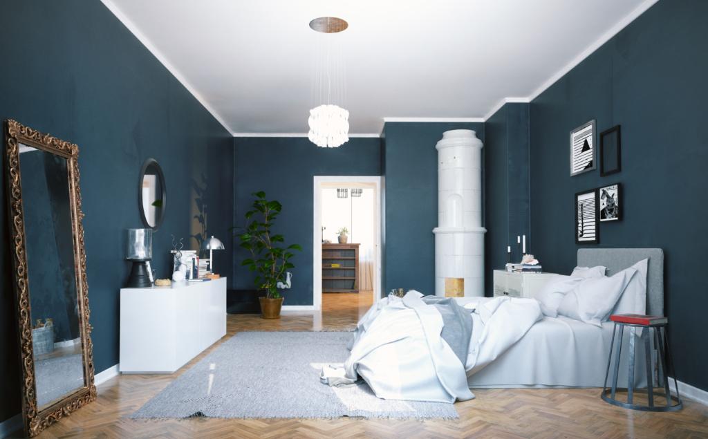 good builder modern bedroom
