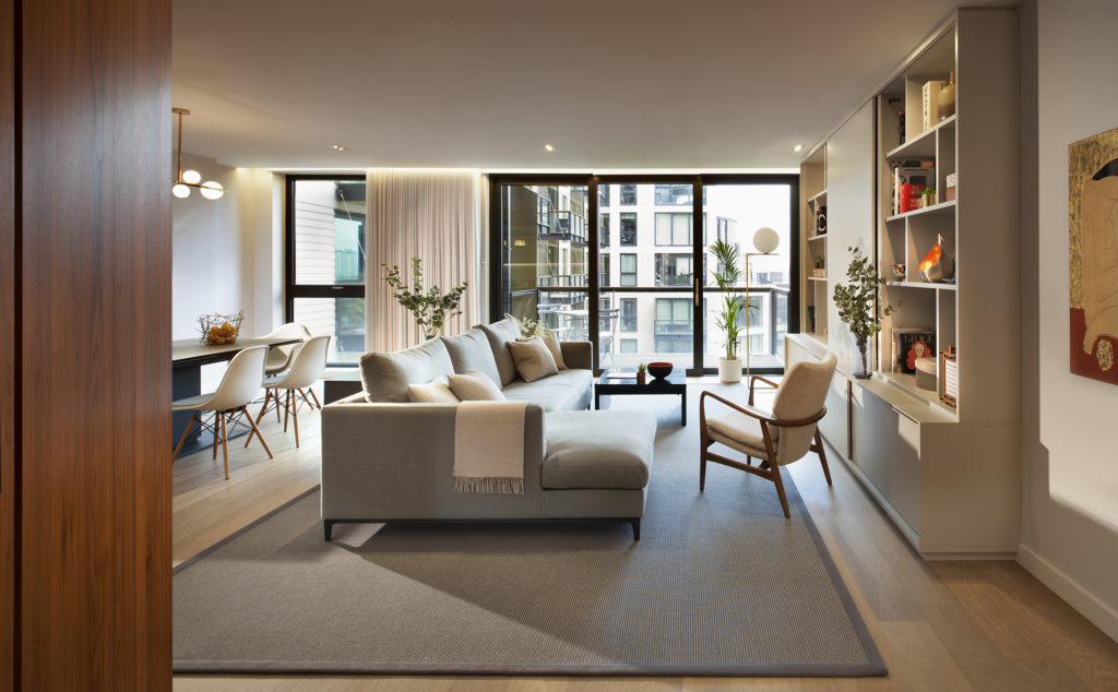Kings Cross residential interior design project photo Philip Vile