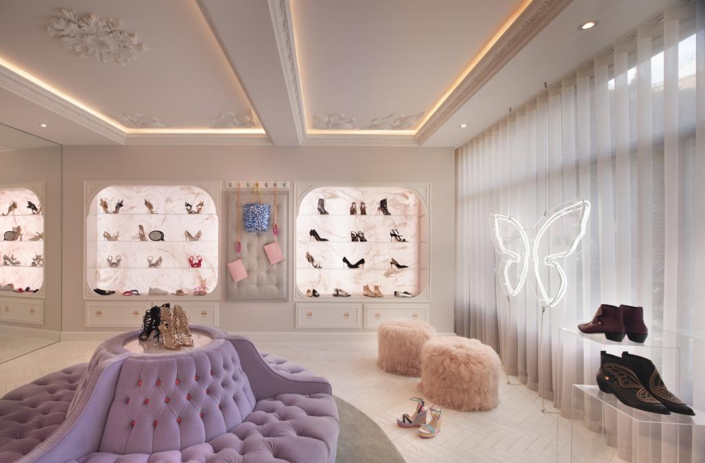 Sophia Webster interior design commercial project 1 photo Philip Vile