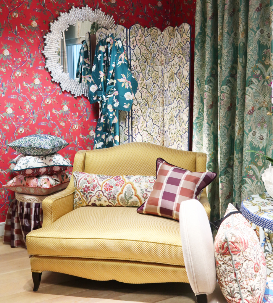 London Design Week Pierre Frey Braquenie fabrics and wallpaper
