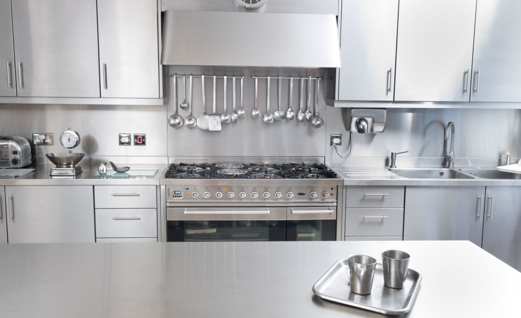 kitchen worktops stainless steel from Cavendish Equipment