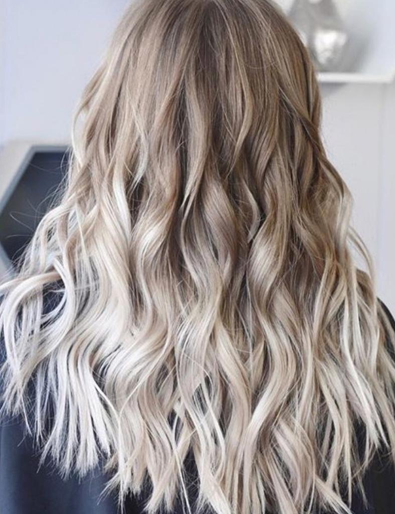 hairdresser long hairstyles Balayage Redken