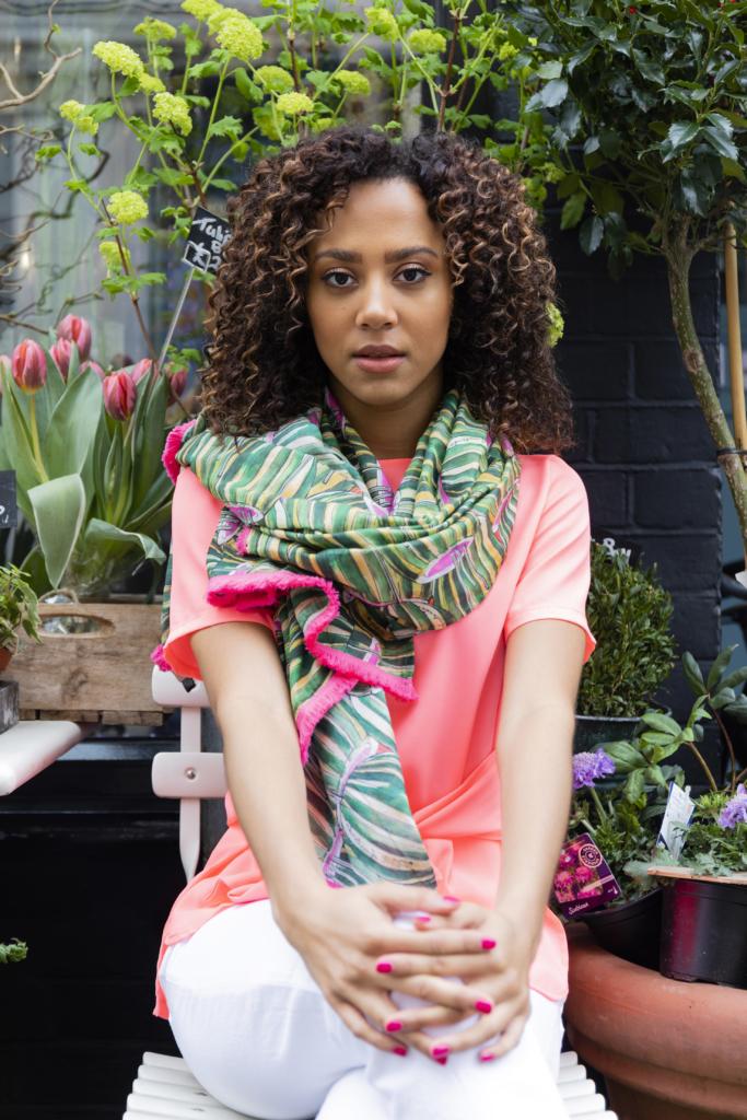 Women's fashion at Coes Ipswich photoshoot of woman