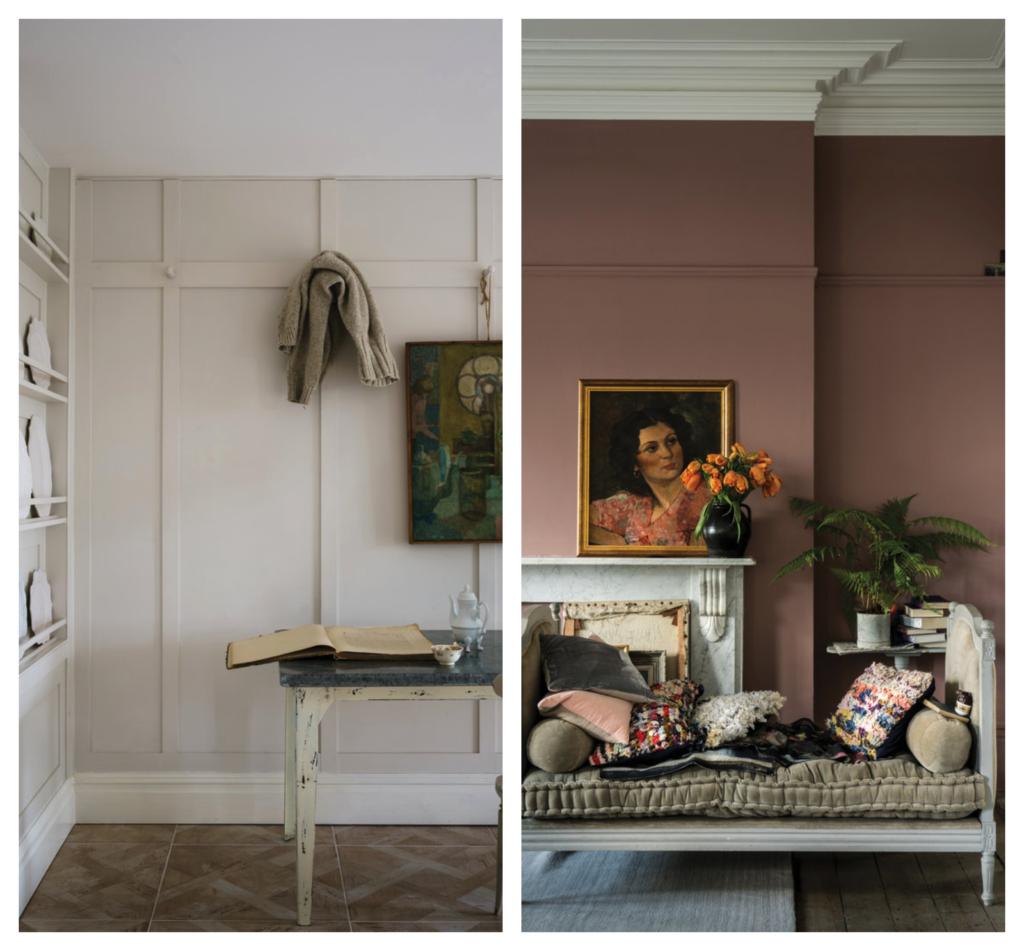 Choosing paint colours Farrow & Ball paints