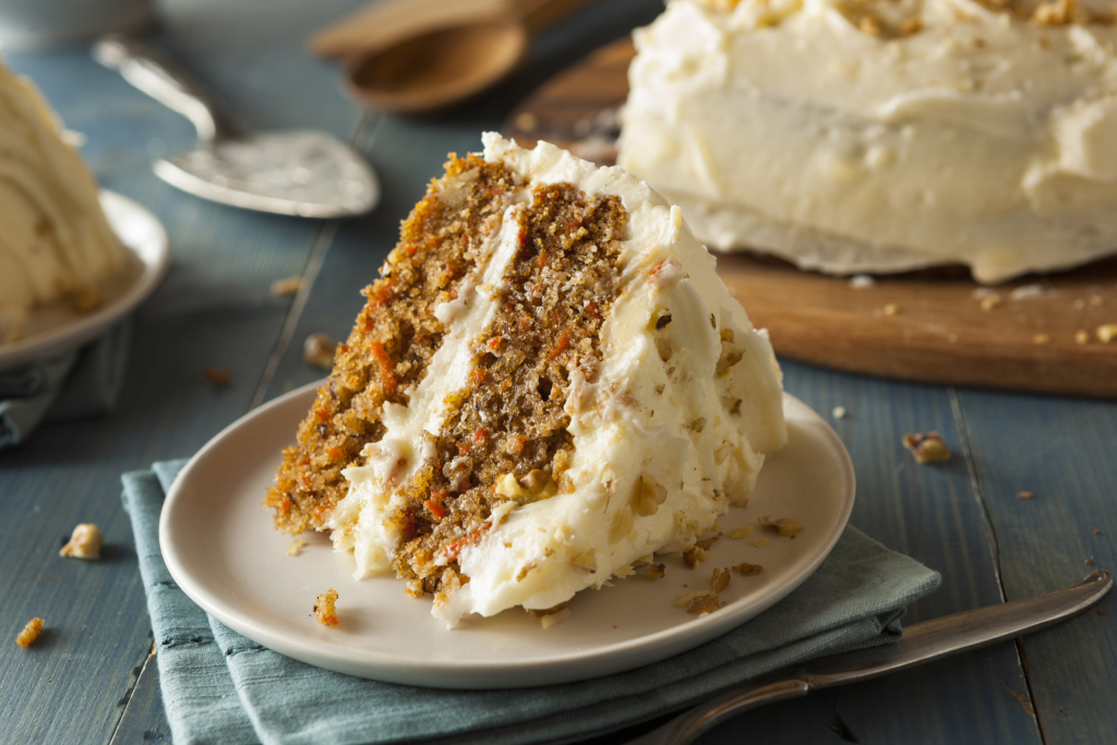 Easter recipes Healthy Homemade Carrot Cake