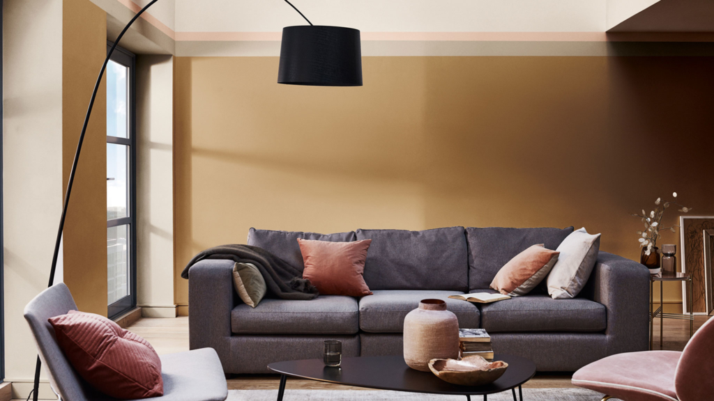 Choosing paint colours Dulux Colour of the Year Spiced Honey