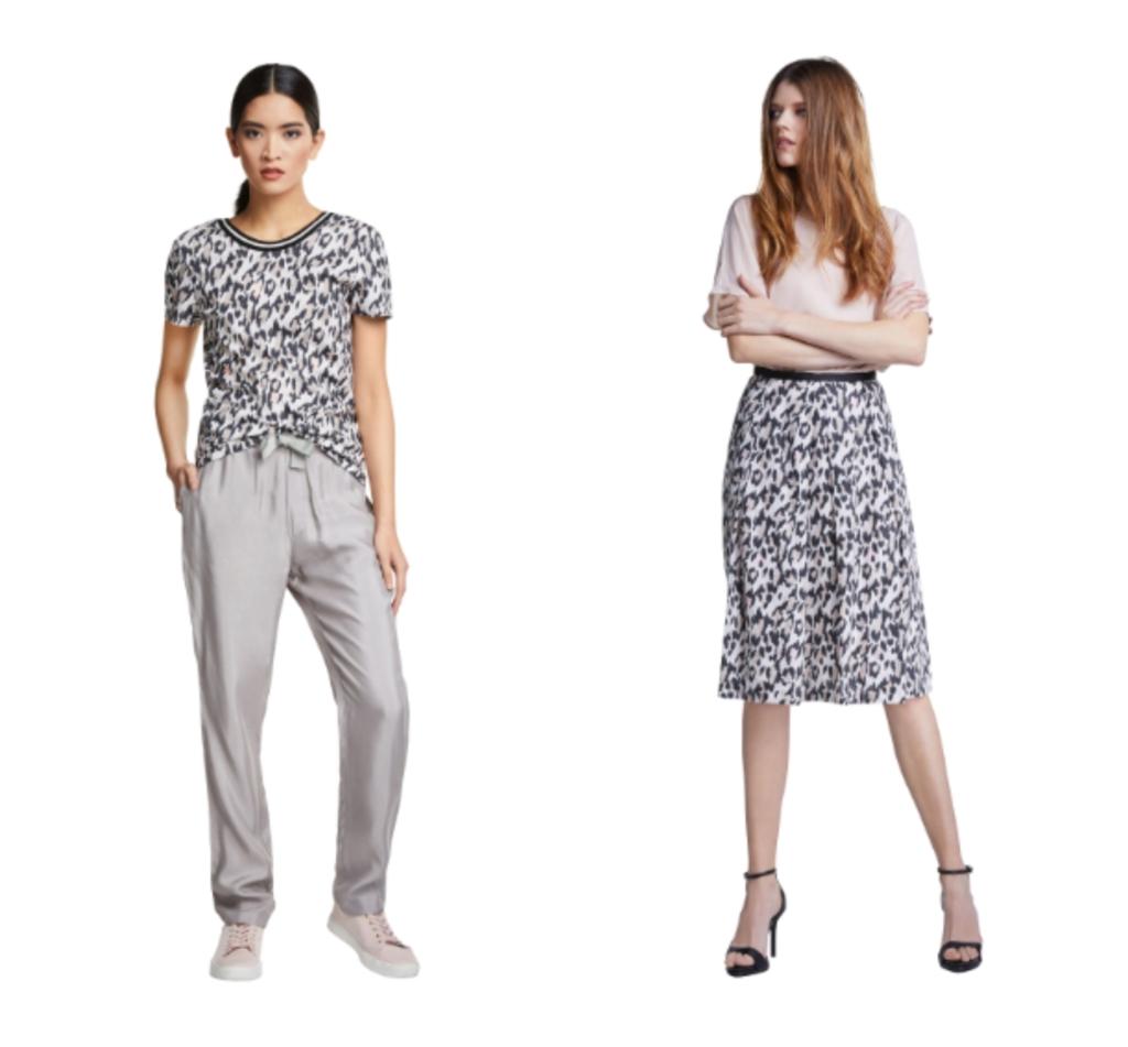women's fashion at Coes animal print trend