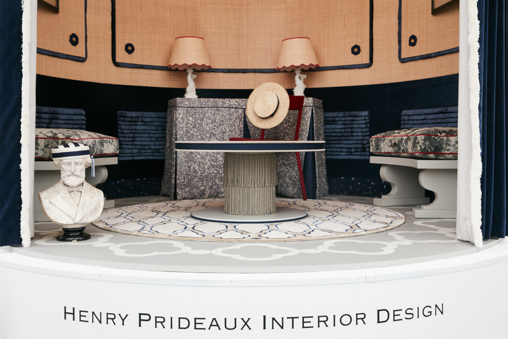 02 smaller shot DECOREX ENTRANCE VIGNETTE DESIGN 2018 BY HENRY PRIDEAUX interior designer