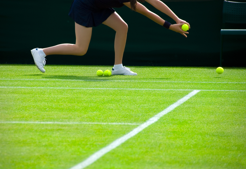 How to play tennis ball girl at Wimbledon