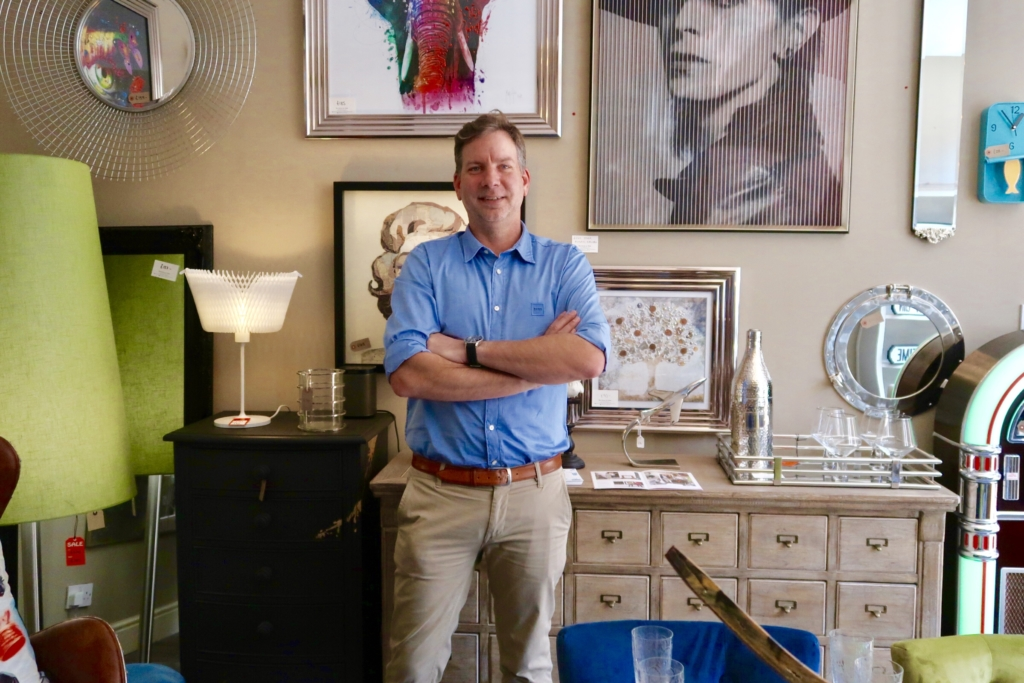 designer homeware John Manning of The House In Town