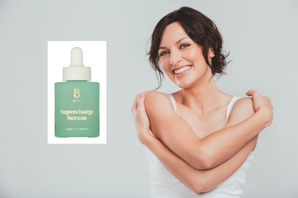 Vegan skincare Bybi supercharge serum