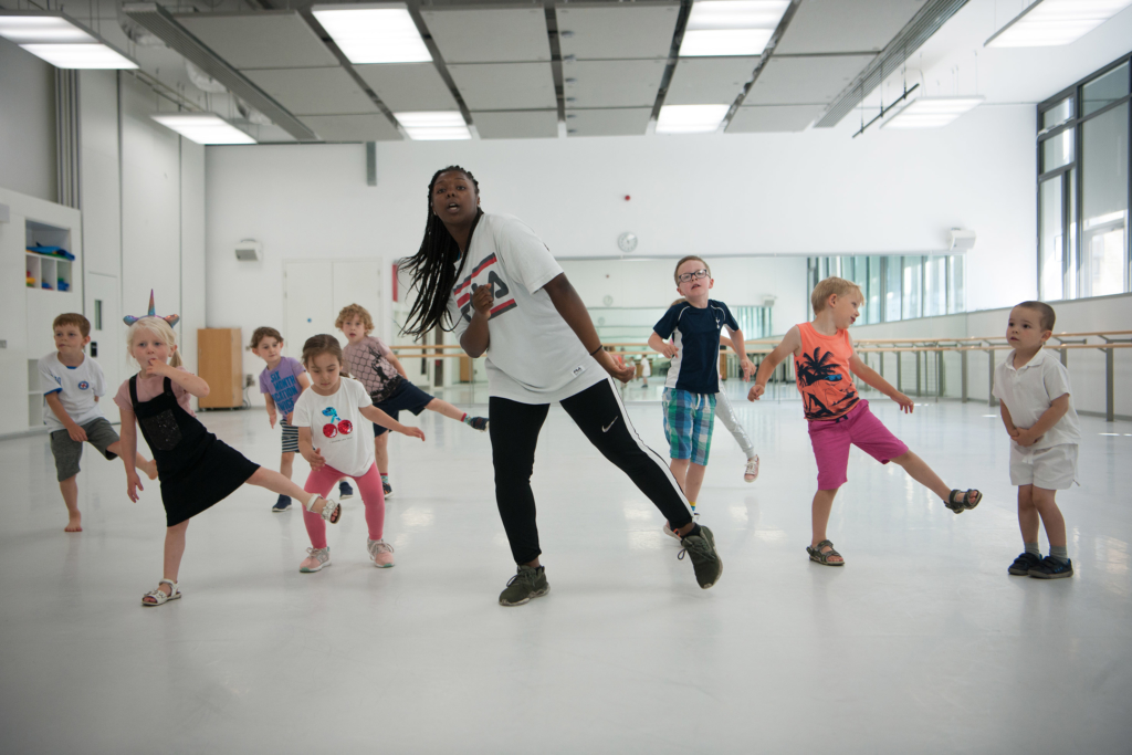 Creative Hip Hop Class_Photo by Chris Nash dance at DanceEast
