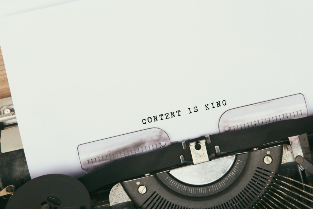 marketing blog content is king
