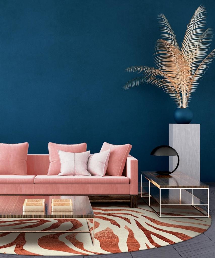 Interior design trends 2020 Matthew Wailes luxury rug Nautilus