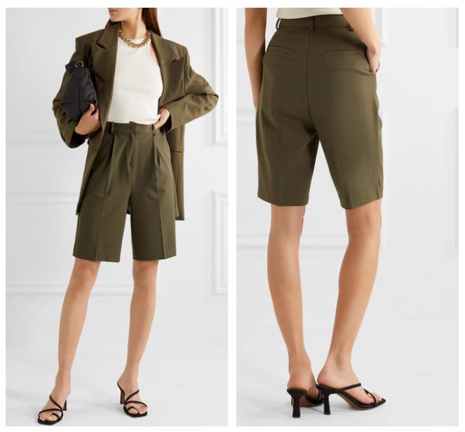 Fashion trends 2020 Net a Porter Bermuda suit
