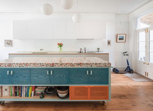 Interior design trends 2020 Terazzo worktop by Diespeker.co.uk