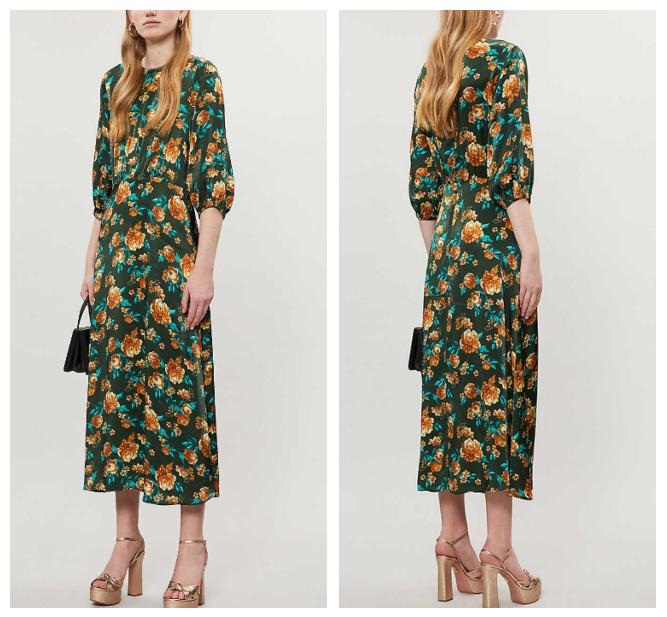 fashion trends 2020 Selfridges 60s wallpaper retro style dress