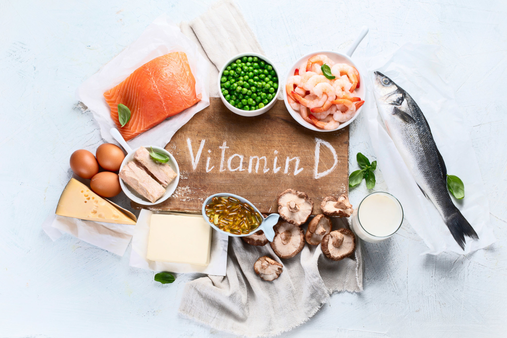 immune system booster foods rich in natural vitamin D